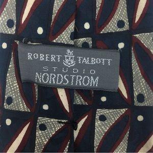 Robert Talbott Silk Studio Geometric Hand Sewn